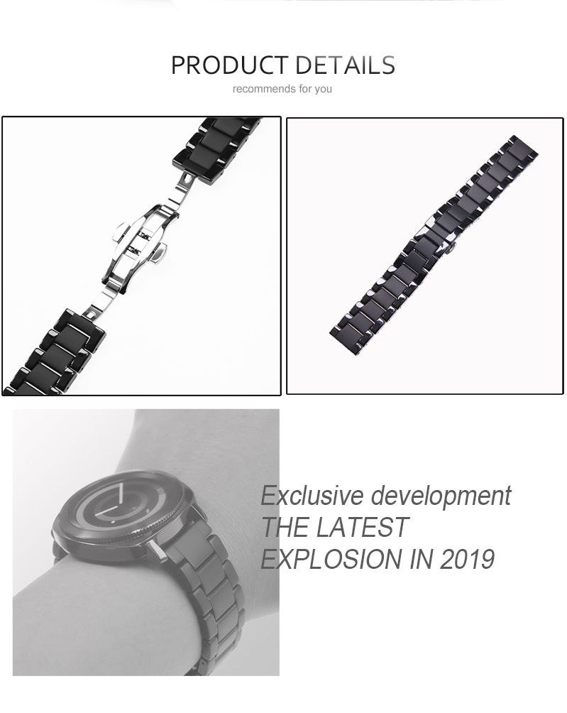 s3 pulseira relógio huawei gt galaxy assista 46mm42mm