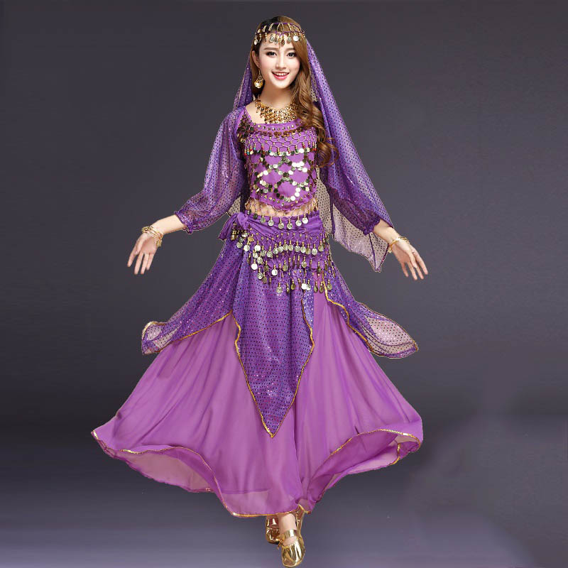 Women Belly Dance Costumes New Oriental Costumes Skirts For Belly Dancing Indian Dance Costume Adult Performance Clothing DN1199