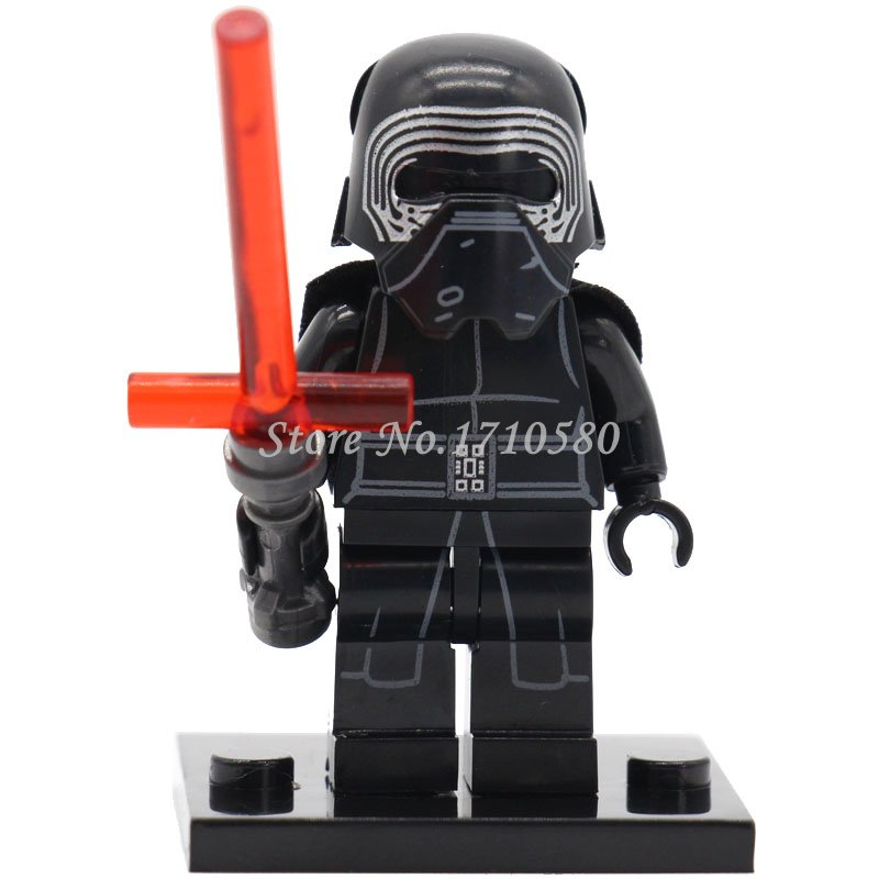 Star Wars 7 Kylo Ren Minifigures XINH 144 Single Sale The Drive Awakens Constructing Blocks Units Mannequin Figures Toys for Kids