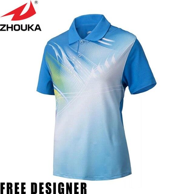 dc3832bd3 Hot sale!ladies' badminton t shirts sublimation custom sports uniforms