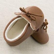 Winter Baby First Walker Shoes Winter Newborns Boy Girl Warm Bebek  Ayakkabi Newborn First Walkers Bear Footwear 70A1022