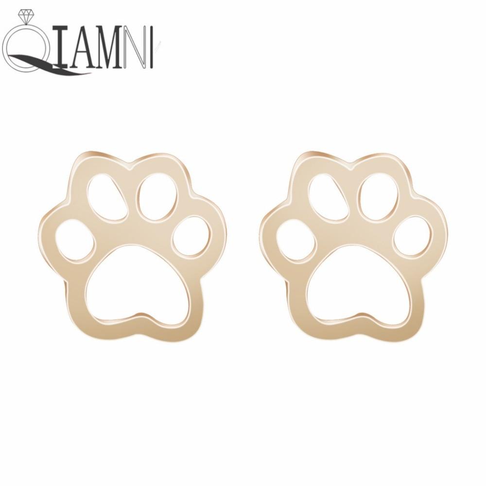QIAMNI Pet Lovers Gift Cute Cat Dog Puppy Paw Print Animal Ss