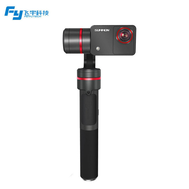 Feiyu SUMMON 3-Axis 4K 1080P 60FPS Camera Integrated Handheld Steady Brushless Gimbal