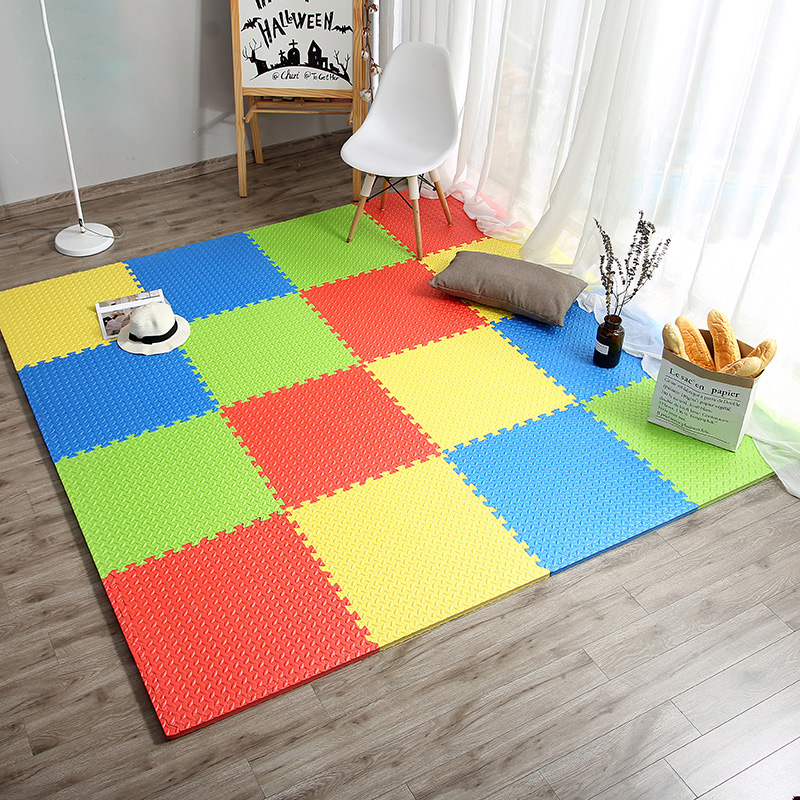 JCC Leaf Pattern Puzzle EVA Foam Baby Play Mat /kids Rugs carpet  Interlocking Exercise Floor for children Tiles 60*60*1.2cmJCC Leaf Pattern Puzzle EVA Foam Baby Play Mat /kids Rugs carpet  Interlocking Exercise Floor for children Tiles 60*60*1.2cm