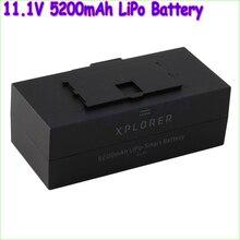 Wholesale 1pcs Original 11.1V 5200mAh LiPo Battery for Xiro explorer Quadcopter drone Intelligent Flight Rechargeable Battery