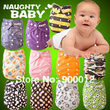 Free Shipping Baby Cloth diaper Newest Patterns 10pcs 10 Microfiber Inserts 10pcs 4 layers 2 2