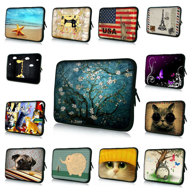 7 10 12 13 15 17.3 inch Laptop Sleeve Notebook Pouch Bag Tablet Case Cover For Dell HP ASUS Waterproof Shockproof Bag