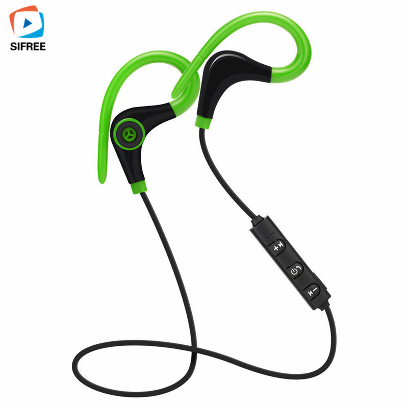 2017 New Bluetooth 4.1 Sport Earphone Handfree Wireless Headset Earphones with Mic Sports music Ear-hook for Ios Android Phone hot sale ttlife smart bluetooth 4 1 earphone upgraded wireless sports headphone portable handfree headset with mic for phones
