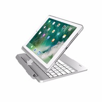Case Keyboard for iPad 9.7 2018 Case Keyboard Slot Cover Flip Bluetooth 7 Colors Backlit Keyboard Cover for iPad Pro 9.7
