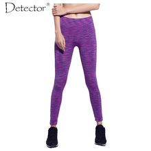 Detector Women Fitness Pants Female Liner Running Tights Sports Legging GYM Full Length Sportswear