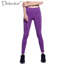 Detector Women Fitness Pants Female Liner Running Tights Sports Legging GYM Full Length Sportswear