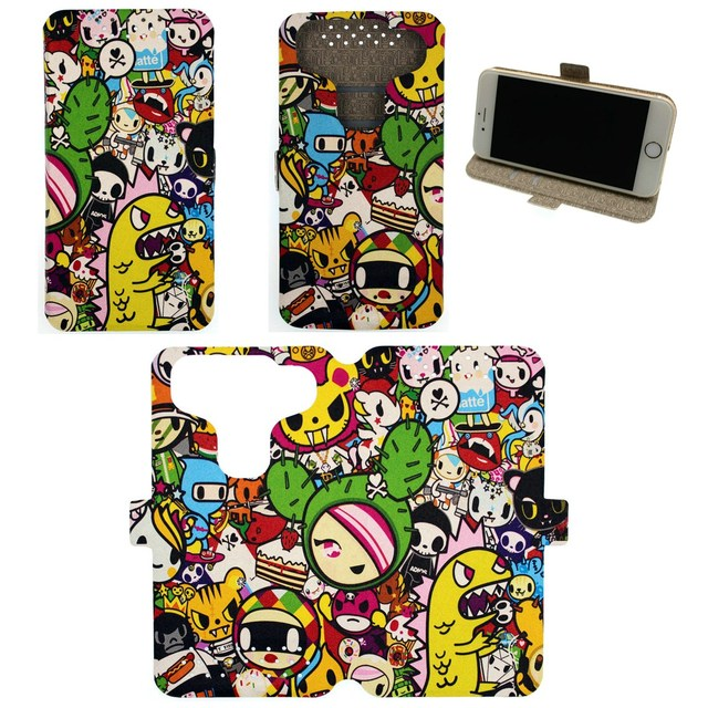 Universal Phone Cover Case for Zte N9519 Warp 7 Case Custom images JH