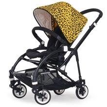 2017 Fashion Light Baby Stroller High Landscape Aluminum Alloy Folding Stroller Shockproof Lying Baby stroller 3 in 1