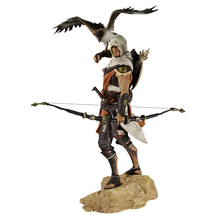 Haocaitoy Figures Origini Bayek PVC Action Figure PVC Model Anime Figure Collection Model Toy Dolls 28cm 28cm steampunk batman timeless play action figure pvc toys collection anime cartoon model toys collectible