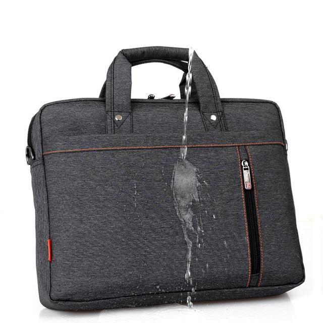 Men Women Nylon Candy Color Waterproof Laptop Bag Shoulder Handbag 12/13.3/14/15.6/17.3 Inch Notebook Computer Bag
