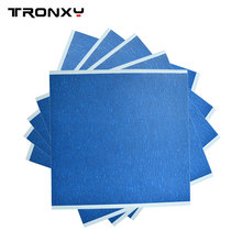 210x200mm Frosted Heated Bed Sticker Printing Build Sheets Build Plate Tape Platform Sticker 3D Printer Tap Blue Textured Paper