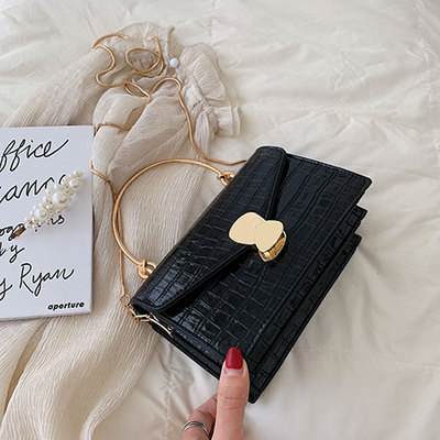 Women Bags Stone Pattern PU...