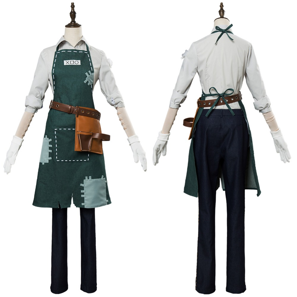 Game Identity V Gardener Cosplay Costume Uniform