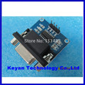 Frete grátis MAX3232 MAX232 RS232 para TTL Converter Module DB9 Conector de Porta Serial