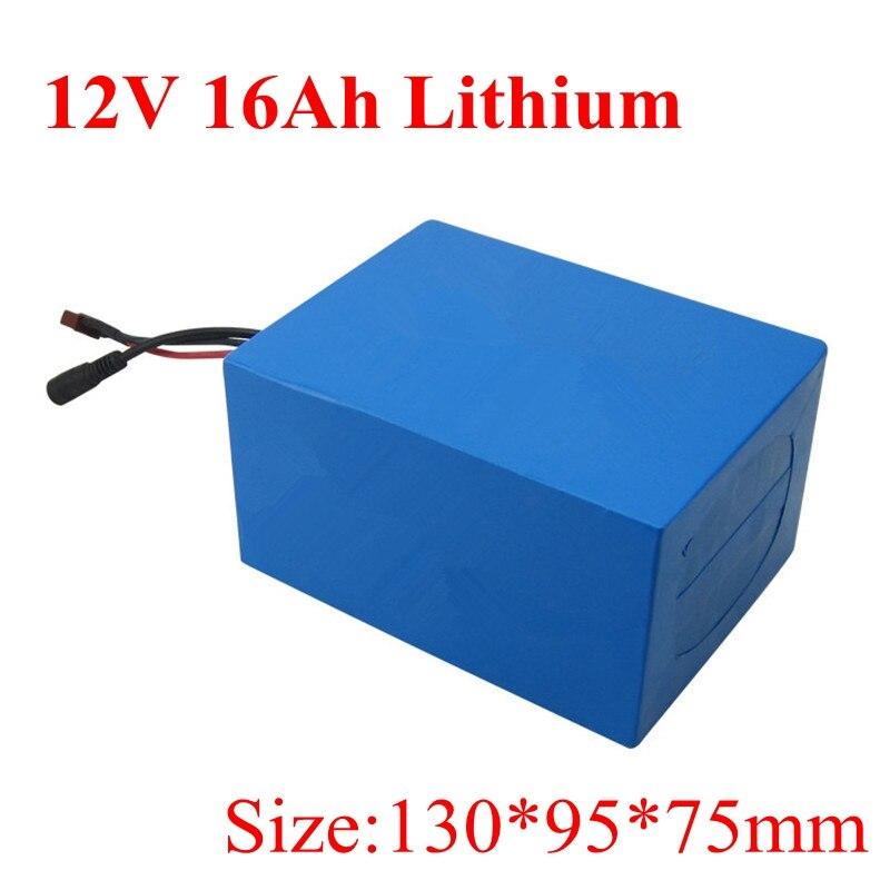 Batterie au Lithium Ion 24 v 16ah Li ion Bateria 18650 Bms 7 s pour surveillance de haut parleur de Robot de Pipeline Ebike 350 w + chargeur-in Batteries from Electronique    1