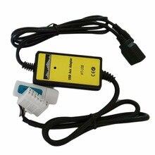 Профессиональный авто USB Aux кабель адаптер MP3-плеер Радио Интерфейс для Toyota 5 + 7 P разъем аудио AUX кабель