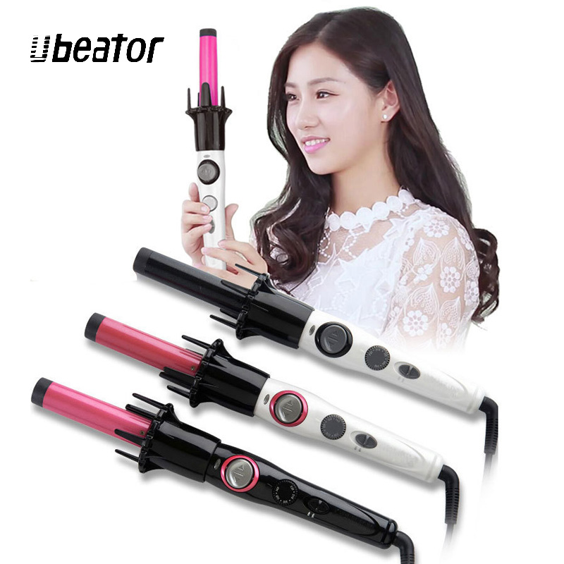 Best Selling Pro Automatic Easy Curling Iron Ceramic Hair Curle Hair Styling Tools Ceramic Automatic Shiny