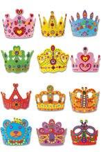 Апреля du diy ремесло Наборы eva короны для празднования дня