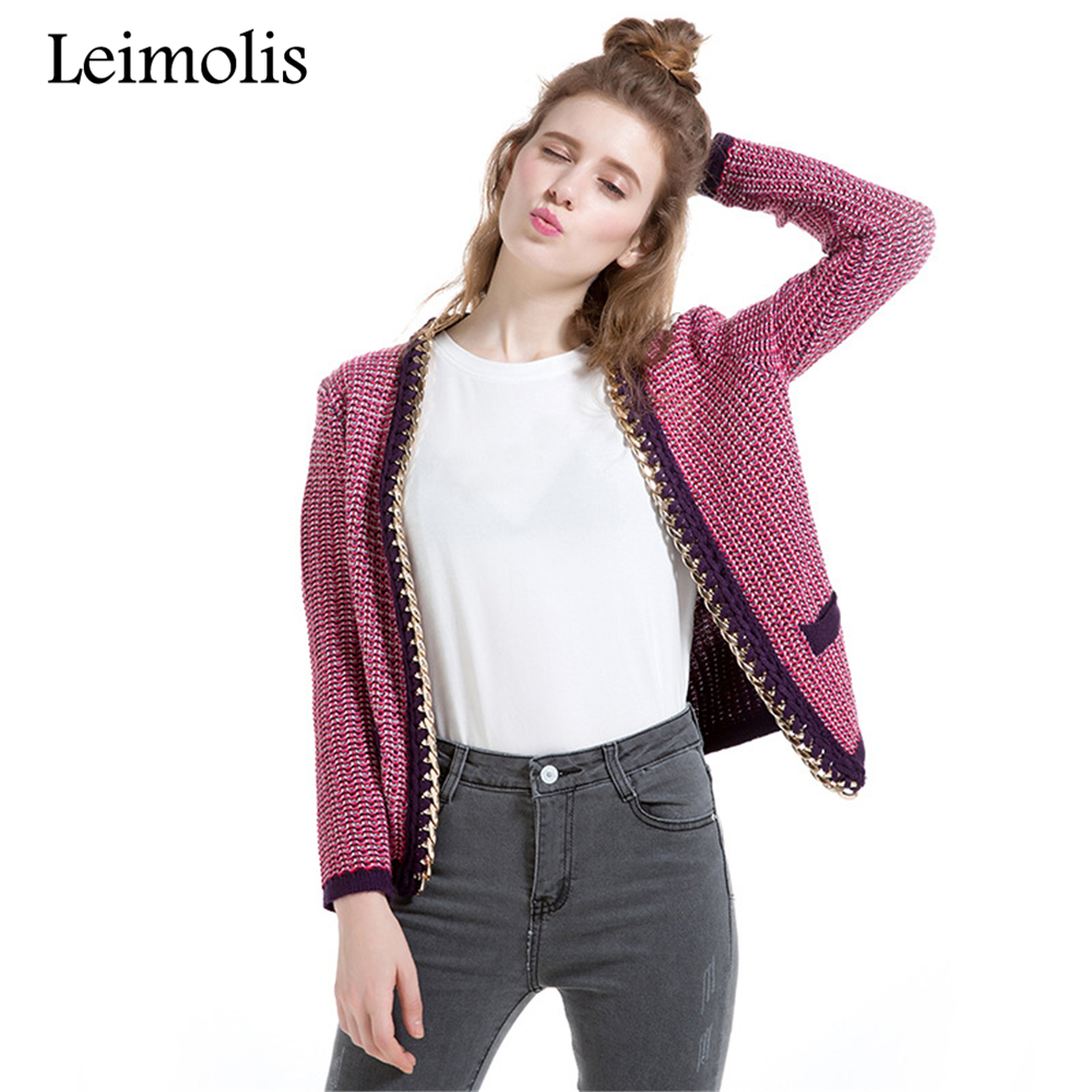 Buy purple cardigan sweater for women and get free shipping on ...