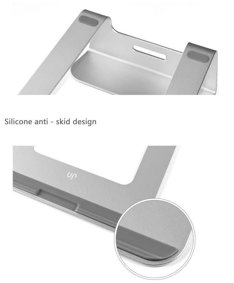 אופנה אלומיניום מחשב שטוח סוגר סוגר שטוח בסיס קירור EZbook 2 מגשר bracket עבור 14.1 inch מחשב נייד Ultrabook