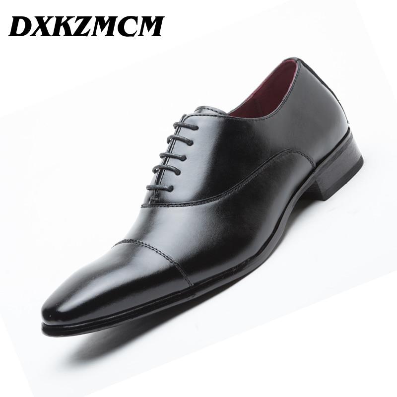Ayakk.'ten Resmi Ayakkabılar'de DXKZMCM El Yapımı Hakiki Deri Erkek Oxford Lace Up Düğün Parti Erkek Kahverengi Elbise Ayakkabı Brogue Erkekler Resmi Ayakkabı'da  Grup 1