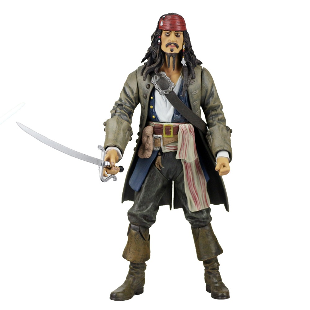 Pirates of the Caribbean PVC Action Figure Collectible Model Toy Doll Without Box APL054001 world of warcraft wow pvc action figure display toy doll dwarven king magni bronzebeard