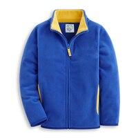 2016 Autumn Children S Clothes Solid Long Sleeve Fleece Thin Zipper Cardigan Boys Jackets For Boys