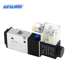 3V210-08 3 Way Port 2 Position 12V 24V 220V Pneumatic Air Solenoid Valve Electric Control Gas Magnetic Valve цена и фото