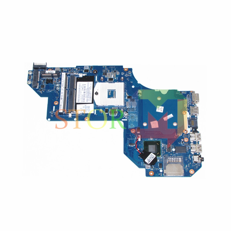 NOKOTION for HP M6 M6-1000 Series laptop motherboard 686928-001 LA-8713P hm77 DDR3 test 815248 501 main board for hp 15 ac 15 ac505tu sr29h laptop motherboard abq52 la c811p uma celeron n3050 cpu 1 6 ghz ddr3