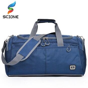 Hot Large Size Sport Bag Training Gym Bag Men Woman Fitness Bag Durable Multifunction Travel Handbag Outdoor Sporting Duffle Bag 1