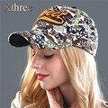 Osso XTHREE Nova moda camuflagem De Algodão tampão Ocasional boné de beisebol do chapéu do snapback para homens mulher