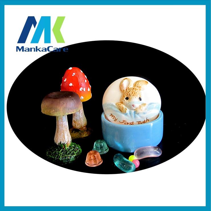 2 Pcs Ceramic Milk Teeth Box Lanugo Preserved Collection Box Cartoon Baby Babies And Infants Souvenir Dental Gift Free Shipping