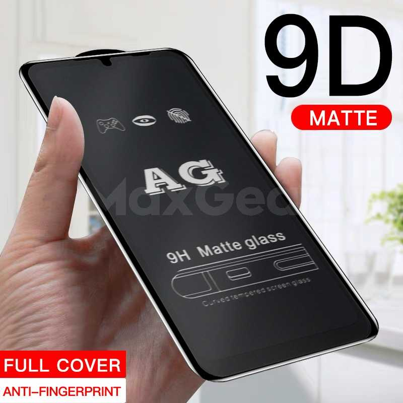 Frosted Matte 9D 9H Tempered Glass For Xiaomi Redmi Note 7 6 5 Pro 5A 5 Plus 6A Anti-fingerprint Scrub Screen Protector Film