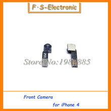 10 шт./лот бесплатная доставка вернуться камера заднего вида с шлейф вспышки для iPhone 4 4 г(China (Mainland))