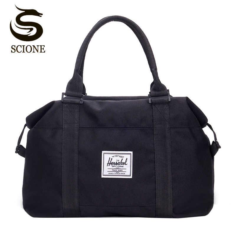 45338f0739ff Top Oxford Men Travel Handbag Carry on Luggage shoulder Bags Men Duffle Bags  Women Travel Tote