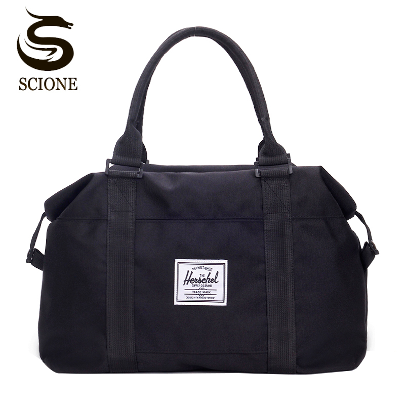 29cd230dcb48 Detail Feedback Questions about Top Oxford Men Travel Handbag Carry on Luggage  shoulder Bags Men Duffle Bags Women Travel Tote Large Weekend Bag Overnight  ...