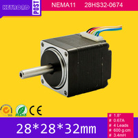Hot Sell High Precision 5pcs 28HS NEMA11 China Cheap 2 Phase 28mm Small Stepper Motor Low