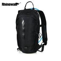 Rhinowalk ciclismo mochila 12l impermeável equitação ultraleve sacos de bicicleta náilon respirável ciclismo saco + 2l bexiga água 2 cores