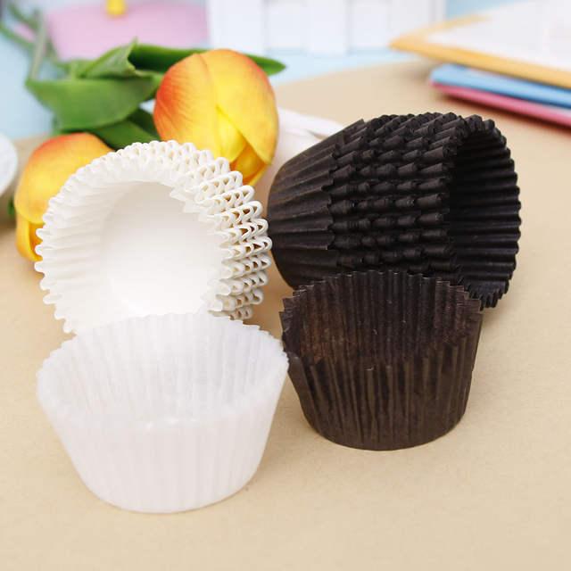 100pcs 35cm Small Mini Cupcake Liner Baking Cup Paper