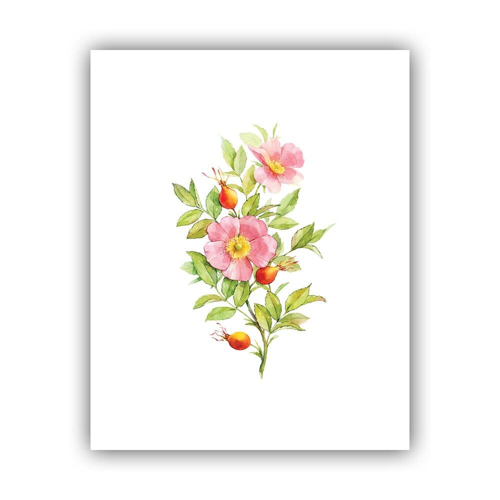 Imej Lukisan Bunga Raya