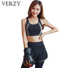 bb3c278f523bc Sport Suit Large Sizes 3XL Yoga Set Women Fitness High Elastic Tight Suits  Running Shirt+Bra+Pants Breathable Sports Bra Outdoor