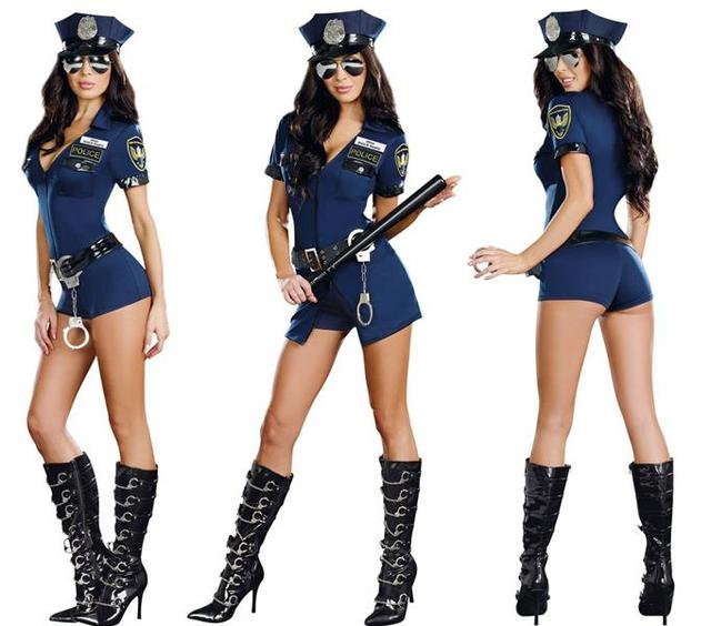 Sexy police officer halloween costume pics 883