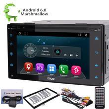 Double 2Din 6.2″ car dvd player Android 6.0 Car GPS Navi DVD in dash Wifi 3G Radio RAM 1GB Head Unit car radio stereo car gps