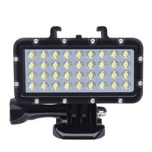 Новый Ночной заполняющий свет лампа для подводного плавания светодио дный водостойкий светодиодный свет для GoPro Hero 7 Xiaomi Yi lite 4 к + Insta 360 аксессуары для камеры