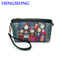 Free shipping hengsheng forest women handbag with leather fashion women forest handbags and cartoon school girls
